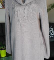 TCHIBO braon haljina- tunika,br.48-50,Nova