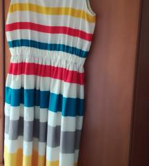 Svilena haljina Marc Jacobs