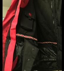 MUŠKA SNOW TECH TCM SKI jakna XL crno siva