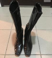 Nove kozne  lakovane cizme
