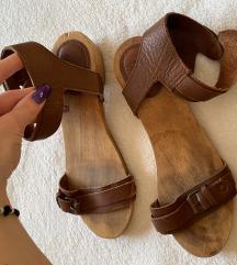 Drvene sandale zara