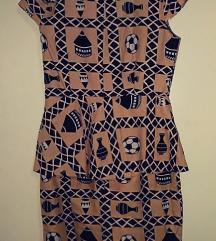 Autentična lanena pepelum haljina, AKCIJA 699