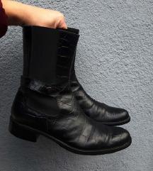 ITALIJANSKE kroko kožne čizme
