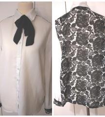 KOTONA košulja NOVA lepršava crno bela 40vel.