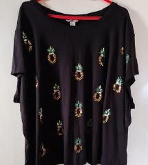 Nova H&M plus size majica