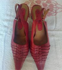 Crvene kozne cipele CAPRICE