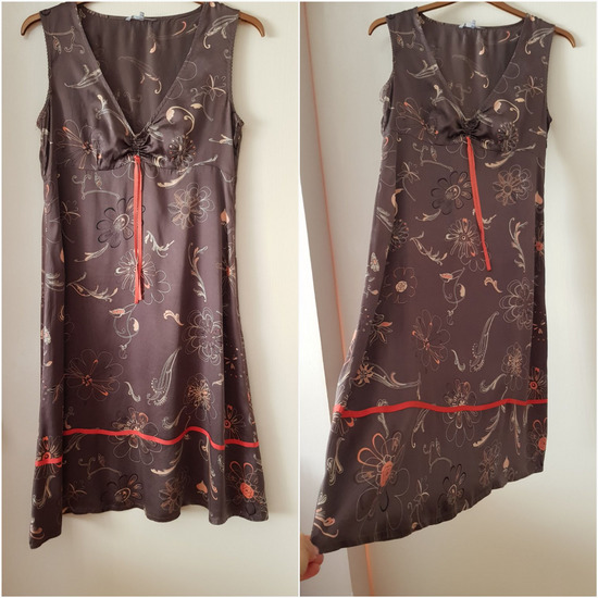 In Wear svilena haljina, original
