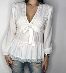 ASPRIN FASHION bela bluza