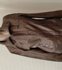 Prelepa prolećna braon jakna