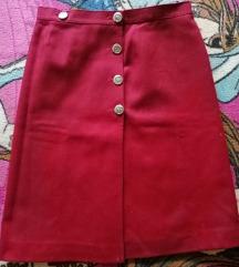 Vintage crvena suknja SNIŽENO