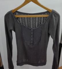 Siva Vintage bluza
