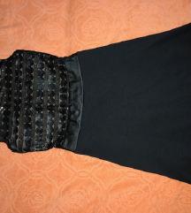 Katrin crna haljinica sa detaljima 🌺
