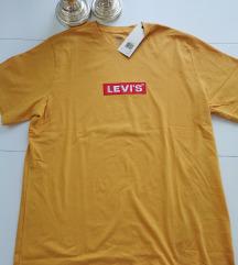 Levi's muska majica original zuta