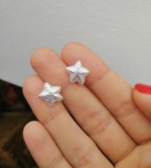 Minđuše zvezdice 925
