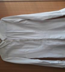 Ženska strukirana bela košulja S/36 veličina Koton