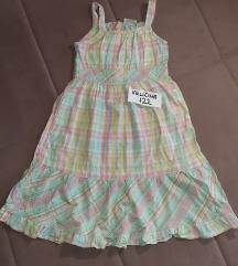 Letnja leprsava haljina, velicina 122