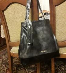 DUKI DASO crno-siva torba neotpakovana