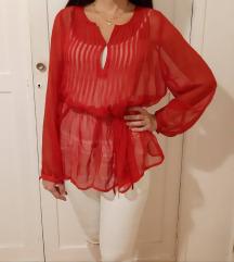 Crvena bluza kosulja Nova M/L