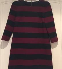 ŠOK CENA!!! 500din ZARA burgundy/black haljina